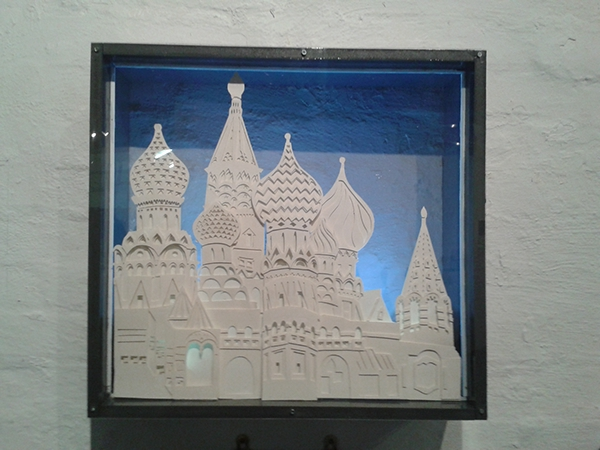 St Basils Cathedral - Paper Cut Out