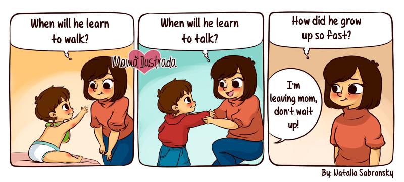Comic of Motherhood