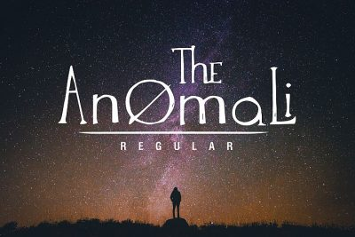 The Anomali Typeface