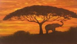 Artist Bernie Langton Shares Africa With Michigan USA