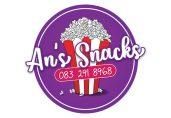 An's Snax Logo Design
